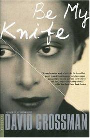 Cover of: Be My Knife