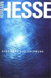 Cover of: Narcissus and Goldmund | Hermann Hesse