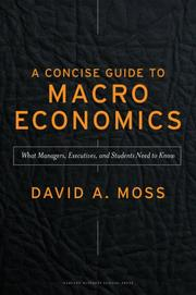 Cover of: Concise Guide to Macroeconomics