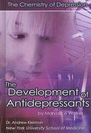 Cover of: The Development of Antidepressants |