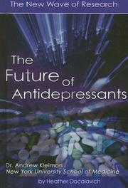 Cover of: The Future of Antidepressants