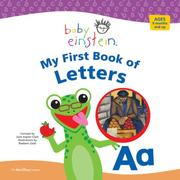 Cover of: My First Book of Letters (Baby Einstein Board Books) | Julie Aigner-Clark