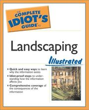 Cover of: The complete idiot's guide to landscaping illustrated