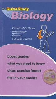 Cover of: QuickStudy for Biology (Quickstudy Books) |