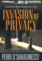 Cover of: Invasion of Privacy (Nina Reilly)
