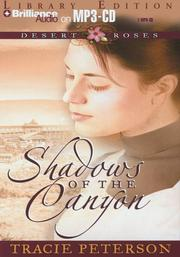Cover of: Shadows of the Canyon (Desert Roses #1)