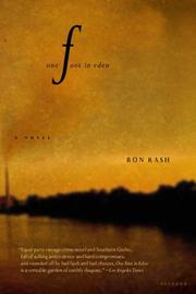 Cover of: One Foot in Eden | Ron Rash