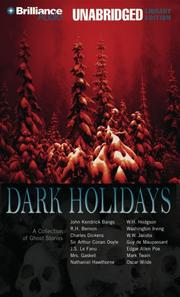 Cover of: Dark Holidays: A Collection of Ghost Stories