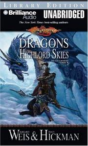 Cover of: Dragons of the Highlord Skies |