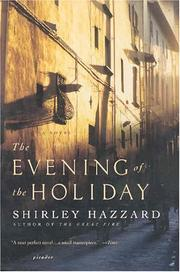 Cover of: The evening of the holiday