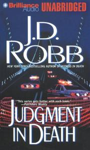 Cover of: Judgment in Death (In Death)