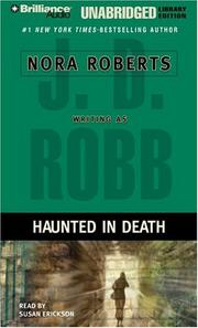Cover of: Haunted in Death (In Death) | Nora Roberts