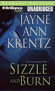 Cover of: Sizzle and Burn (The Arcane Society, Book 3)