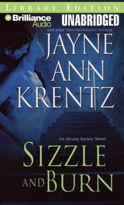 Cover of: Sizzle and Burn (The Arcane Society, Book 3) by Jayne Ann Krentz