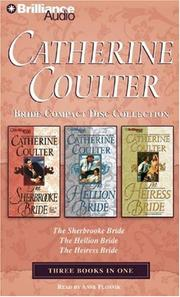 Cover of: Catherine Coulter Bride CD Collection 1: The Sherbrooke Bride, The Hellion Bride, The Heiress Bride