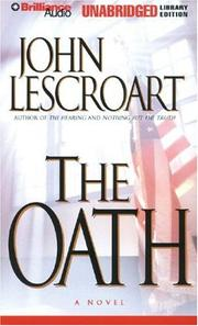 Cover of: Oath, The (Dismas Hardy) | John T. Lescroart