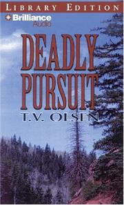 Cover of: Deadly Pursuit (Five Star westerns)