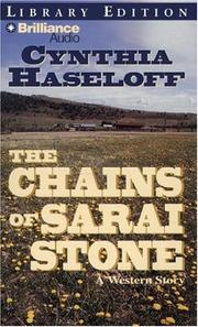 Cover of: Chains of Sarai Stone, The (Five Star westerns)