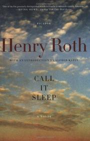 Cover of: Call It Sleep | Henry Roth
