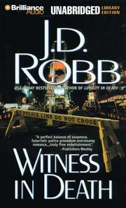 Cover of: Witness in Death (In Death)
