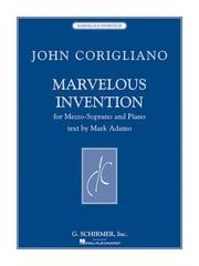 Cover of: Marvelous Invention | Mark Adamo