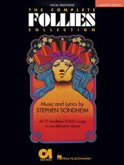 Cover of: Follies - The Complete Collection: Vocal Selections