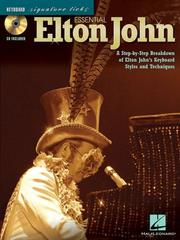 Cover of: Essential Elton John