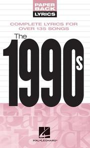 Cover of: The 1990s | Hal Leonard Corp.