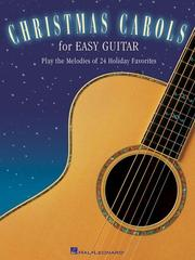 Cover of: Christmas Carols for Easy Guitar | Hal Leonard Corp.