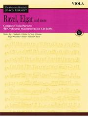 Cover of: Ravel, Elgar and More - Volume 7 |
