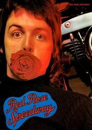 Cover of: Paul McCartney - Red Rose Speedway