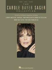 Cover of: THE CAROLE BAYER SAGER       COLLECTION | Carole Bayer Sager