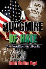 Cover of: A Quagmire of Hate | Robin Mullins Boyd