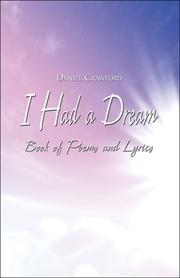Cover of: I Had a Dream