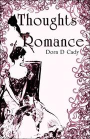 Cover of: Thoughts of Romance | Dorn D. Caddy