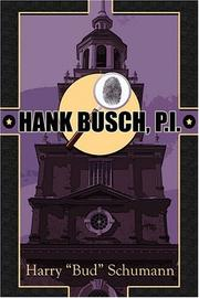 Cover of: Hank Busch, P.I. | Harry