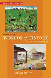 Cover of: Worlds of History Volume Two: A Comparative Reader