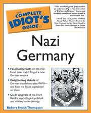 Cover of: Complete Idiot's Guide to Nazi Germany