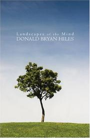Cover of: Landscapes of the Mind | Donald Bryan Hiles