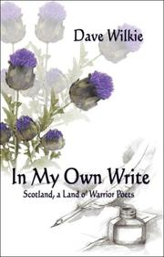 Cover of: Dave Wilkie: In My Own Write