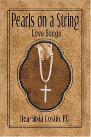 Cover of: Pearls on a String | Rea-Silvia Costin P.E.