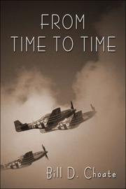 Cover of: From Time to Time | Billy D. Choate