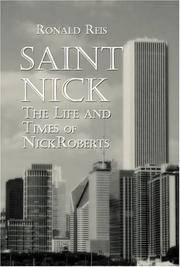 Cover of: Saint Nick | Ronald Reis