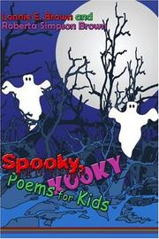 Spooky, Kooky Poems for Kids by Lonnie E. Brown, Roberta Simpson Brown