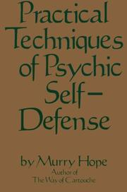 Cover of: Practical techniques of psychic self-defense