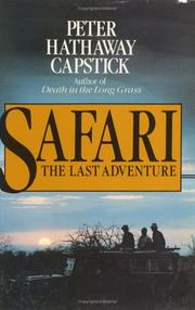 Cover of: Safari, the last adventure