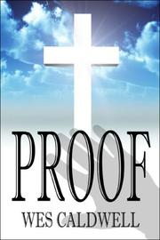 Cover of: Proof | Wes Caldwell