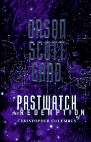 Cover of: Pastwatch: The Redemption of Christopher Columbus