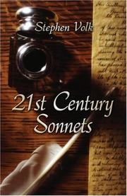 Cover of: 21st Century Sonnets