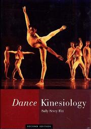 Cover of: Dance kinesiology